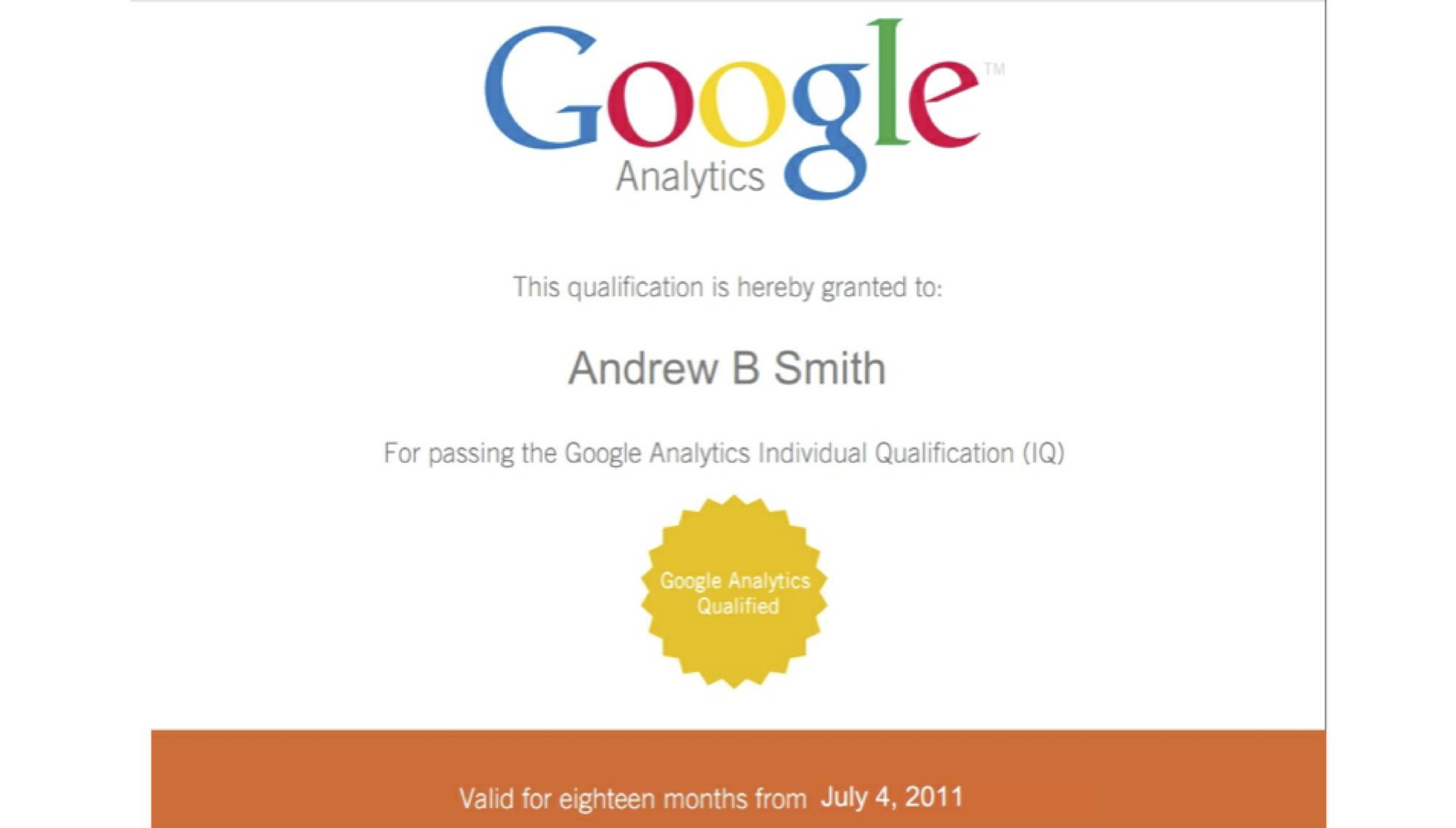 Google Analytics Training From X5 Google Analytics Individual